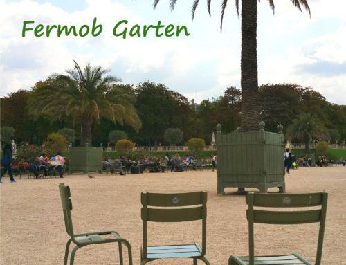 Urlaubszeit im Fermob Garten !