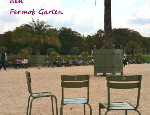 Kurze Urlaubszeit im Fermob Garten!