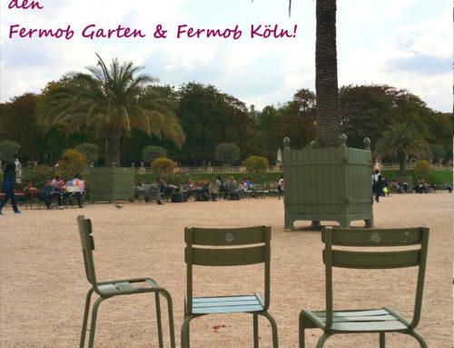 Kurze Urlaubszeit für Fermob Köln & den Fermob Garten!