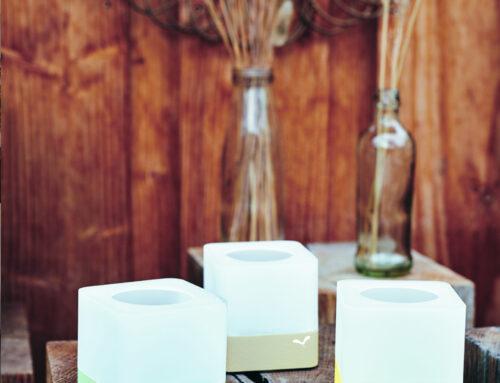 CUUB – das neue Windlicht, Design Tristan Lohner