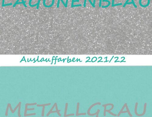 Lagunenblau & Metallgrau werden gehen!